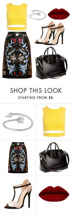 """""""Classy Dinner Wear"""" by yanrula on Polyvore featuring Sans Souci, Mary Katrantzou, Givenchy and Charlotte Russe"""