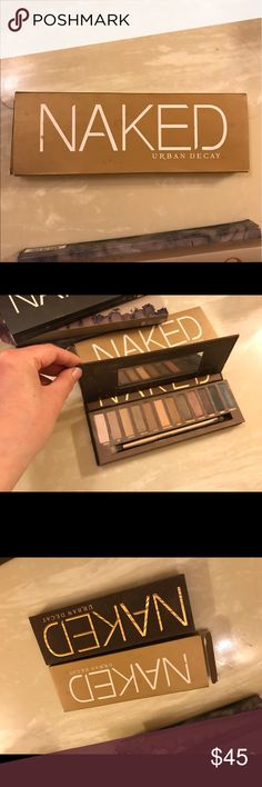 Urban decay naked palette $40 OBO Urban Decay Makeup Eyeshadow
