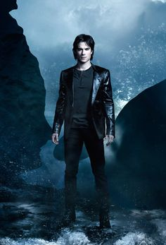 OH! Can I PLEASE JUST HAVE HIM FOR MY BIRTHDAY!????Vampire Diaries  Damon Salvatore-Ian Somerhalder <3 <3 <3
