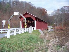 Herline Covered Bridge  Bedford Co, PA