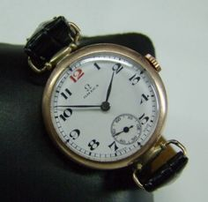 1930-039-S-OMEGA-SOLID-9K-GOLD-WHITE-ENAMEL-DIAL-MID-SIZE-WATCH