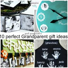 best gifts for grandparents 10 Gifts for Grandparents Personalized Gifts For Grandparents, New Grandparents, Grandparent Gifts, Grandpa Gifts, Diy Gifts For Kids, Craft Gifts, Diy For Kids, Bob Marley, Kids Food Crafts