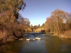 The Vaal River in Parys