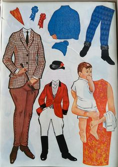Oh my gosh, I remember having these for my Jackie Kennedy paperdoll. I even remember the store mom took me to in town to buy them. It is of course long since closed.