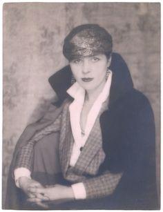 Djuna Barnes, 1925 photographed by Berenice Abbott (born in Springfield OH 1898)