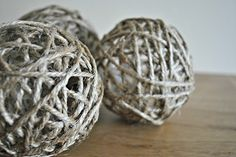 I saw these at church as decoration on the mantle.  Looked great but these are expensive to buy.  This is a great tutorial will have to make some this year.