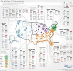 The wealthiest zip codes in each state [Chart]