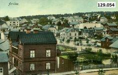 Arvika kolorert tidlig 1900-tallet