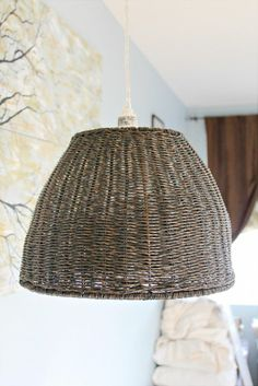 Making a Pendant Light from a Trash Can