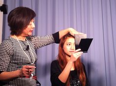 メイク講座をゼミで主催しました!  A make up & cosmetics workshop organized by our seminar.