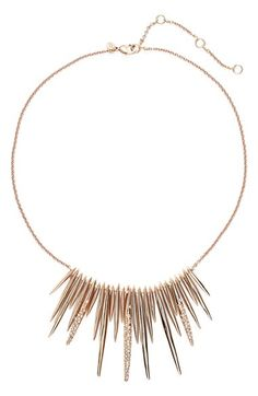 Alexis Bittar 'Miss Havisham' Spike Bib Necklace available at #Nordstrom