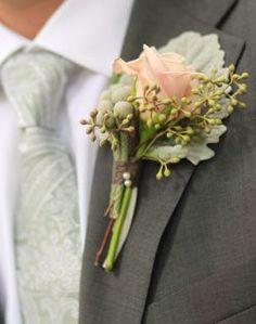 Colorful Groom's Boutonniere - Marriage Stuff