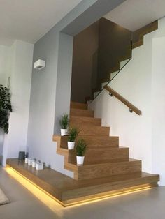Modern Staircase Design Ideas - Stairways are so common that you do not provide a doubt. Look into best 10 instances of modern staircase that are as spectacular as they are . Apartment Entrance, House Entrance, Entrance Ideas, Hall House, Entrance Hall, Entrance Lighting, Hall Lighting, Entrance Design, Entryway Ideas