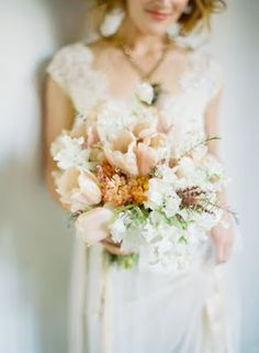 pink whimsical bouquet