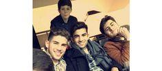 Les quatre fils Zidane aux premières loges pour encourager leur papa (ENZO, LUCA, THÉO ET ELYAZ ÉTAIENT AU STADE BERNABEU)