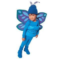 DIY Blue Butterfly Costume DIY Halloween