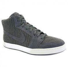 Nike Air Royal Mid Knit Mens High Top Trainers Dark Grey