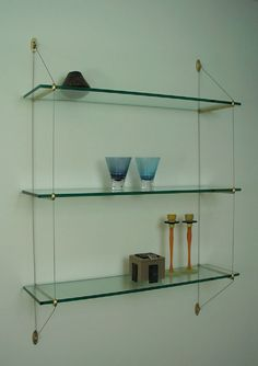 Glass Wall shelf