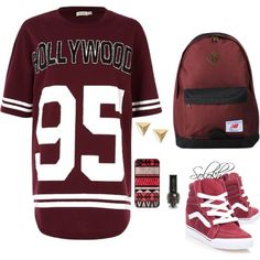 """HollyWood"" by lilichko on Polyvore"