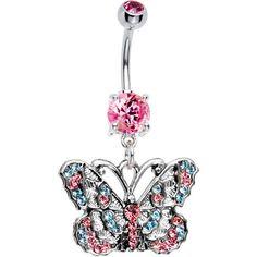 Baby Blue Pink Cz Montage Butterfly Belly Ring Body Candy http://www.amazon.com/dp/B003X3J1RO/ref=cm_sw_r_pi_dp_vm-xub02EFFKH