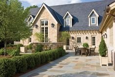 Alderley estate in Great Falls is an impressive stone-and-stucco version of an English cottage—subtle and exquisite. New Cotswold. Virginia. Virginia Living. Design. Interiors. Architecture. Decorating. Gardens. Home.