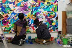 Studio Visit: Tomokazu Matsuyama  A view of art history seen through the eyes of an astute color fanatic #art #color #design