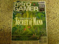 Retro Gamer Magizine Secret of Mana On Cover Issue 85
