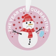 Funny Sad Snowman Quarantine Christmas Ornament - tap, personalize, buy right now! #Ornament #quarantine, #funny, #corona #virus, #pandemic, Christmas Crafts For Adults, Christmas Gifts To Make, Xmas Crafts, Little Christmas, Christmas Snowman, Christmas And New Year, Christmas Stuff, Christmas Recipes, Christmas Ideas