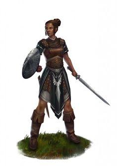 Die Alanfanische Schwertgesellin - Ein neuer Charakter für die Hand Borons