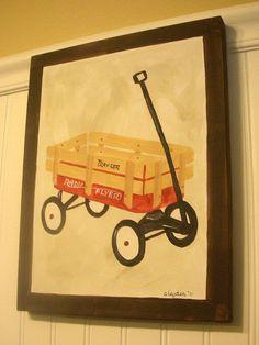 boy kid room decor..baby nursery wall art..original by theivylane, $42.00