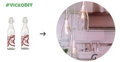 A beautiful idea and a stylish to lighten your room!  See more: http://goo.gl/O95yQc