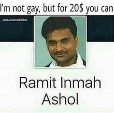 Dammit Ramit