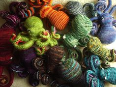 Too Many Cephalopods... by hansigurumi, via Flickr (There are never too many)