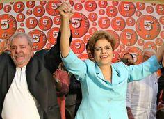 Lula e Dilma Rousseff: conversa entre aliados começou pouco depois das 18h