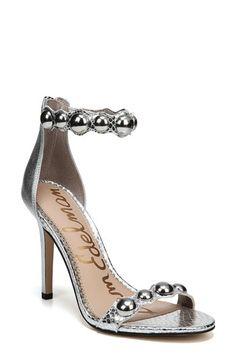 5c929e03860235 Sam Edelmen Addison Embellished Ankle Strap Sandal (Women)