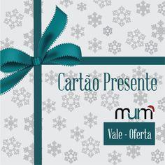 """Para os """"indecisos"""" a MurM tem a solução ideal neste Natal: Cartão Presente! Escolha o valor desejado e ofereça este miminho  Adquira já o seu em www.murm.pt/collections/trendy/products/gift-card"""