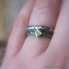 I have the engagement ring, now we just have to buy the wedding band. <3