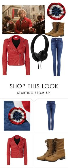 """""""Enjorlas (Les Mis)"""" by broadwaylover9 ❤ liked on Polyvore featuring 3x1, IRO and Skullcandy"""