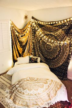 Lady Scorpio | @Ladyscorpio101 ☽☽ ladyscorpio101.com ☆ Perfect Bedroom Decor for the Hippie at heart ♡ Shop Lady Scorpio for the ultimate stocking stuffers for the Holidays! Sparkles & Glitter Sequins perfect for wedding curtains and backdrops! Heavenly Sequins Wall Hanging Curtain