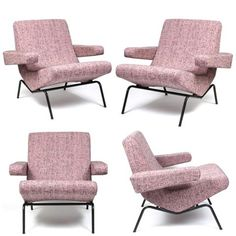 Pure 50's French beauty... Pierre Paulin, Thonet, 1956 Check more iconic mid-century modern pieces clicking on the pic.