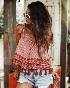 Cute Summer Outfits For Women And Teen Girls Casual Simple Summer Fashion Ideas. Clothes for summer. Summer Styles ideas Trending in Cute Summer Outfits, Trendy Outfits, Cute Outfits, Casual Summer, Summer Ootd, Summer Dresses, Holiday Outfits, Women's Casual, Skirt Outfits