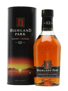 Highland Park 12 Year Old / Bot.Early 1990s Scotch Whisky : The Whisky Exchange