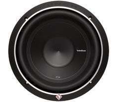 """The Rockford Fosgate P2 10"""" subwoofer continues """"The PUNCH"""" tradition. The P2D2-10 features a Dual 2-Ohm voice coil, 300 Watts RMS power handling, and can accommodate a grille insert using the included cast aluminum trim ring."""