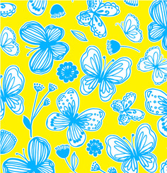 "NEW ""French Butterfly"" Gift Wrap- Available in 15"", 18"" and 24"" widths"