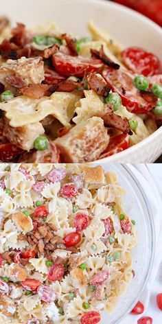 Bbq Chicken Side Dishes, Chicken Bacon Pasta, Potluck Side Dishes, Side Dishes For Bbq, Baked Chicken Recipes, Ranch Chicken, Fried Chicken, Bbq Recipes Sides, Easy Potluck Recipes