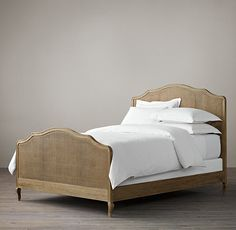Lorraine Caned Bed With Footboard $1465