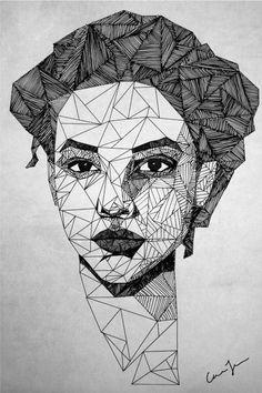Image result for portret basic shapes
