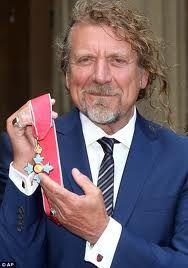 Congrats to Robert Plant on receiving the CBE
