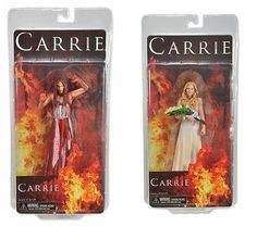 CARRIE Figurines : @NECA_TOYS will release a figurine for @CarrieMovie