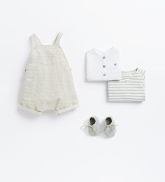 Image 1 of from Zara Cute Kids Fashion, Baby Boy Fashion, Toddler Fashion, Baby Outfits, Kids Clothing Canada, Couture Bb, Rompers For Kids, Baby Rompers, Minimalist Kids